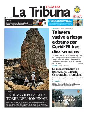 Portada La Tribuna de Talavera